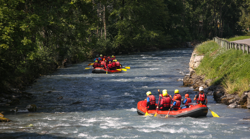 Rafting In Chamonix