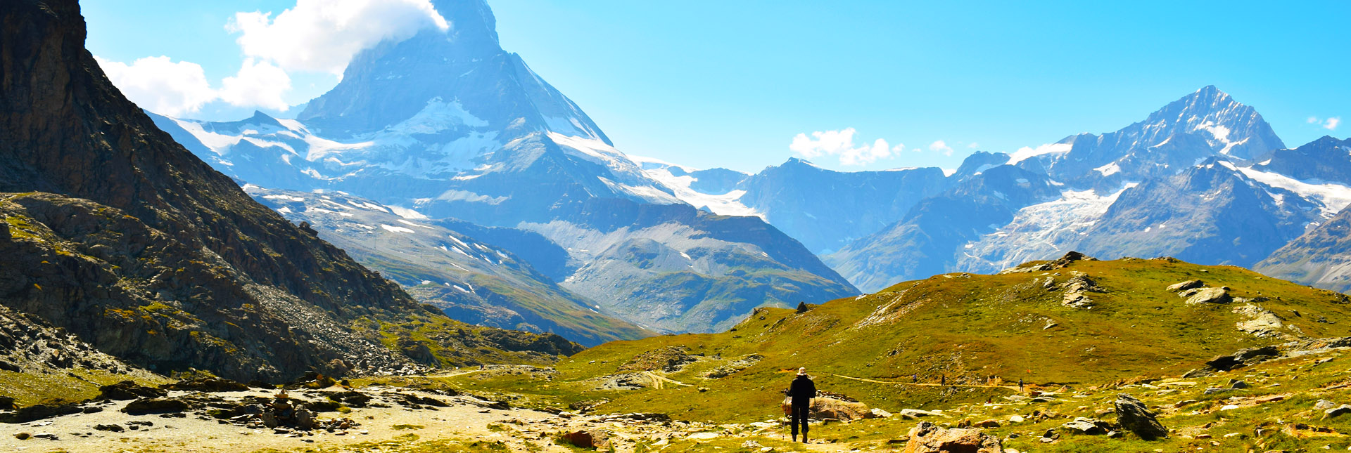 View of Matterhorn en-route