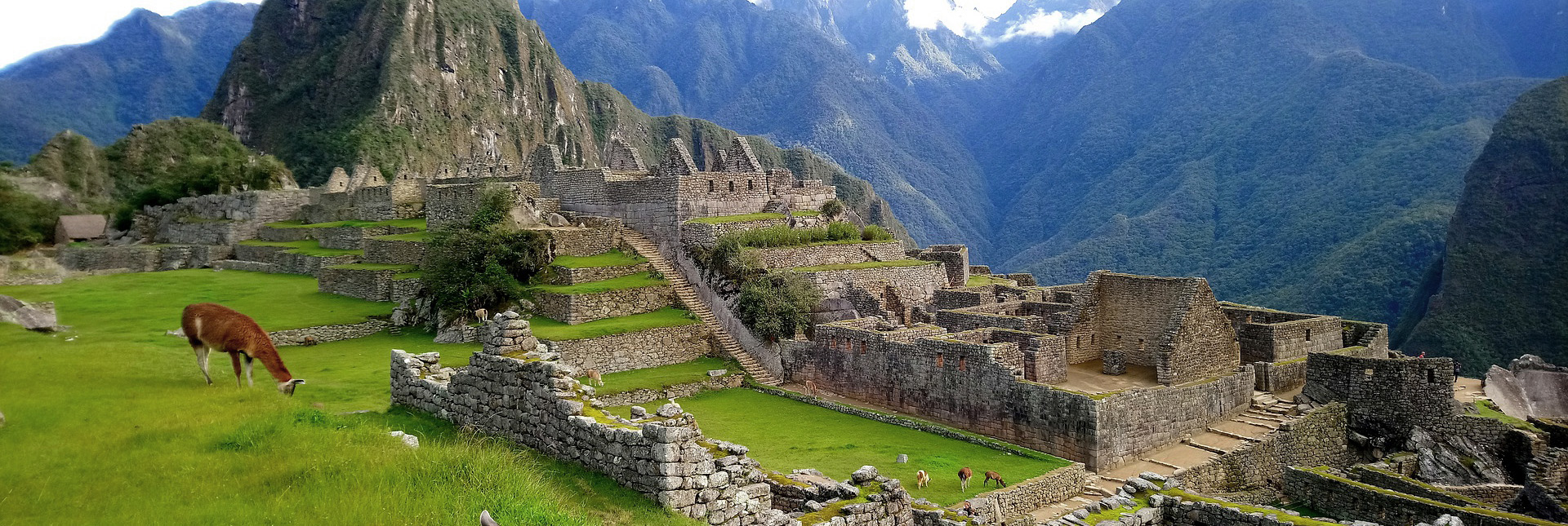 View of Inca Ruins