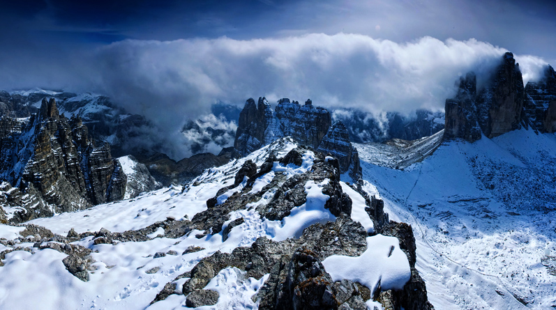 Guided Trekking in Italian Dolomites from Cortina d'Ampezzo