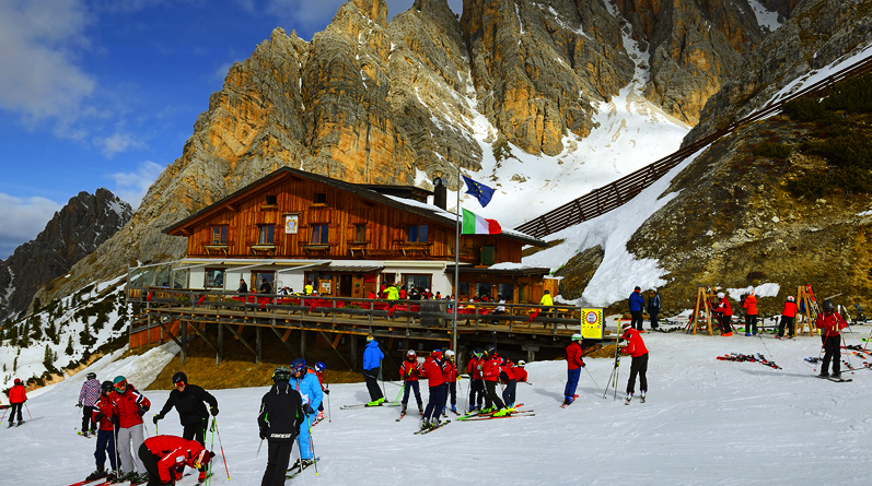 Ski Tours in the Dolomites from Cortina d'Ampezzo