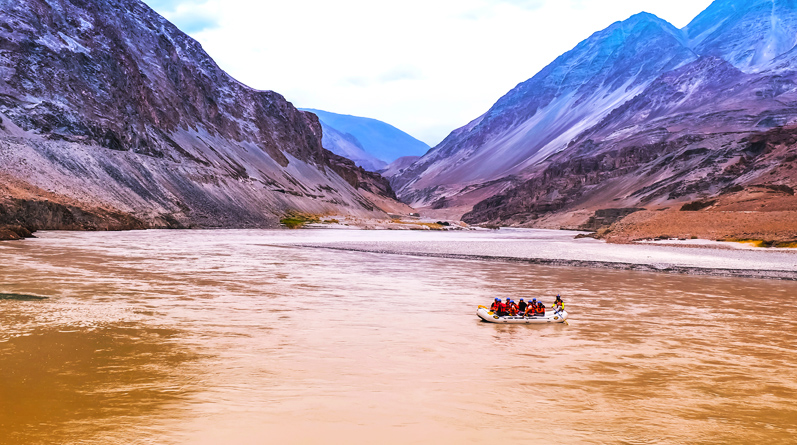 White Water Rafting in Ladakh on Indus and Zanskar Rivers