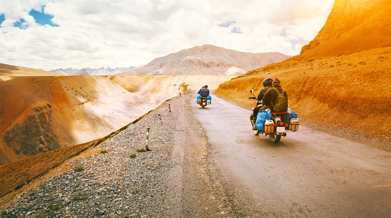 Motor Biking Trips in Ladakh